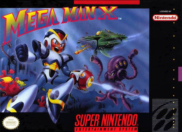Mega Man X | box