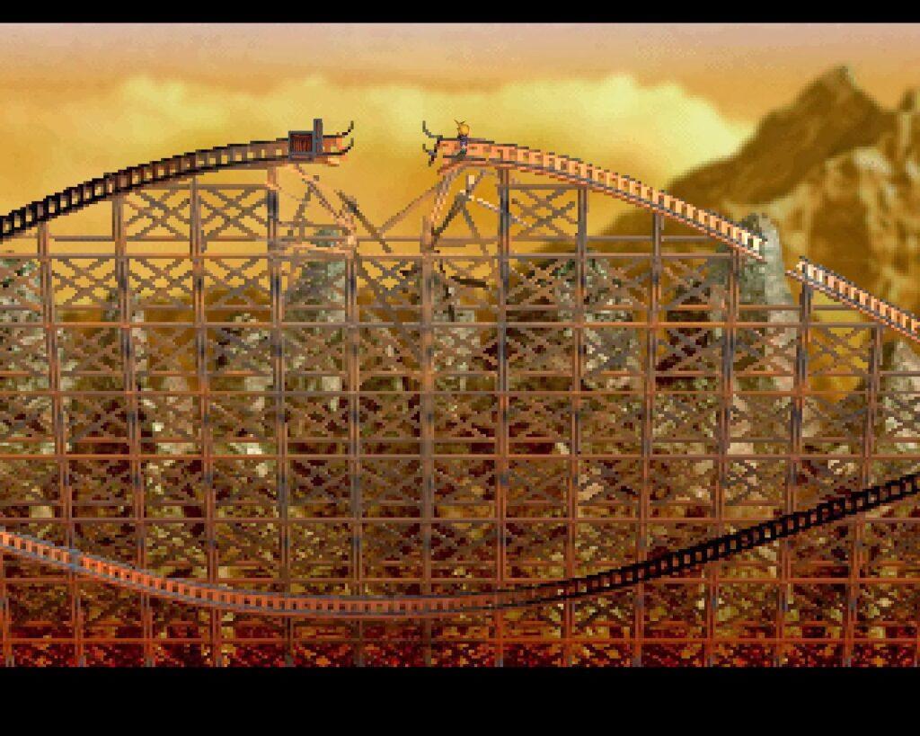 Final Fantasy VII | Corel Train Tracks