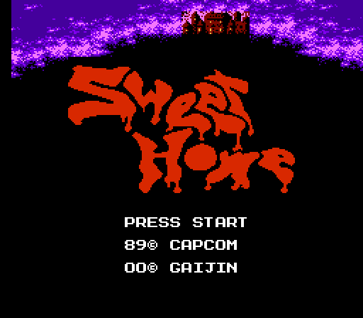 RPGs of the Famicom: Sweet Home