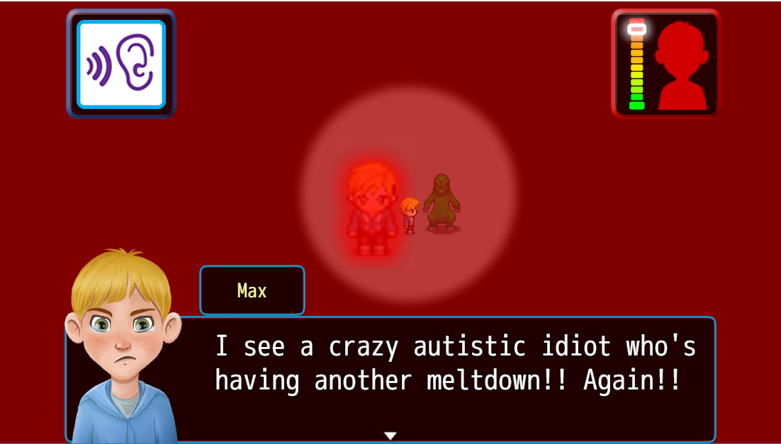 Max, an Autistic Journey   Crazy autistic idiot