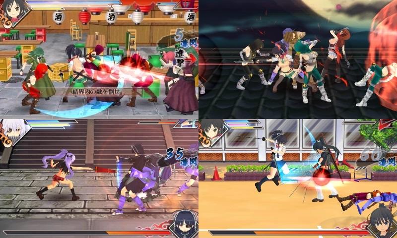 Senran Kagura Burst | gameplay