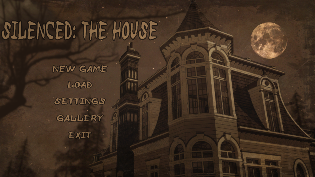 Silenced: The House | Title screen