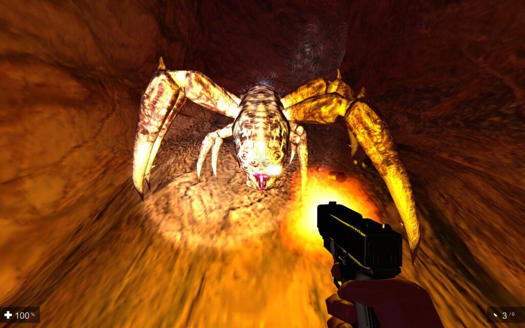 Gynophobia   giant spider