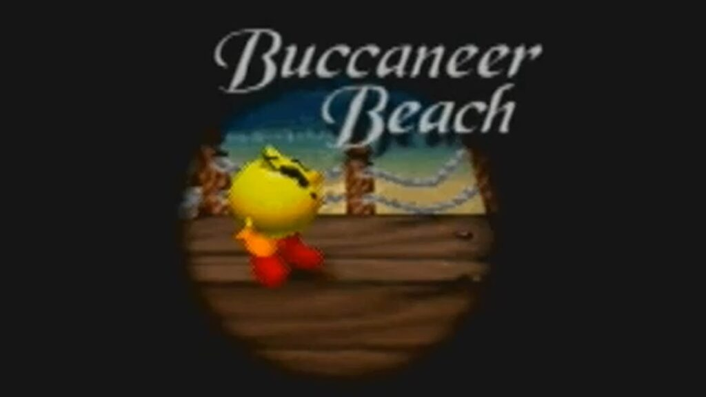 Pac-Man World | Buccanear Beach