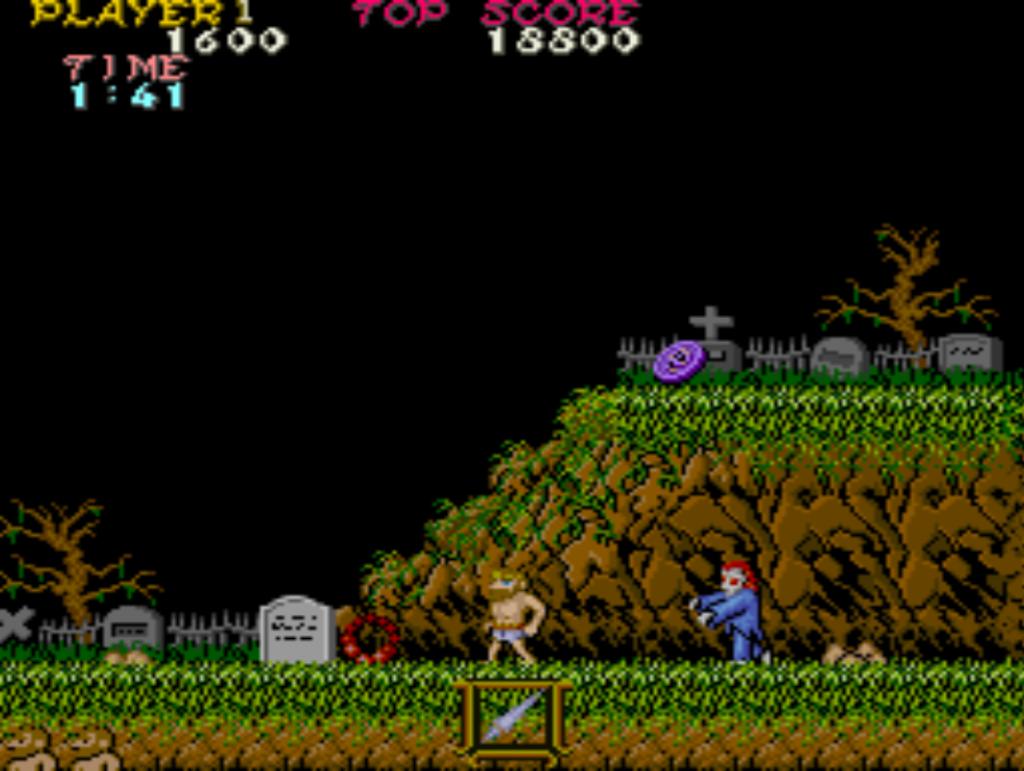 Ghosts 'n Goblins | Level 1