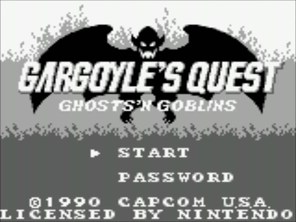 Quick Review: Gargoyle's Quest (Game Boy)