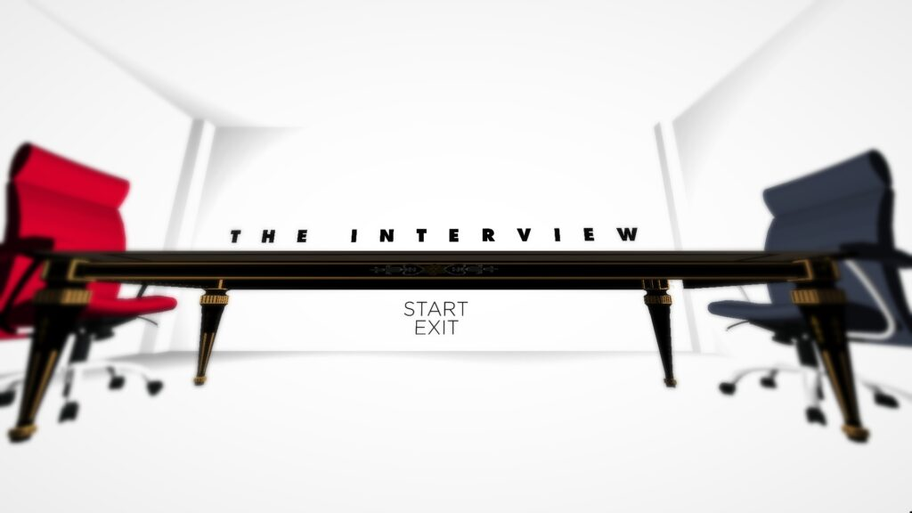 The Interview | title screen