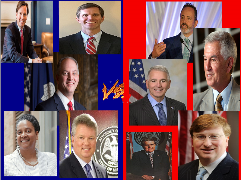 Pink Tsunami: 2019 US Gubernatorial Elections