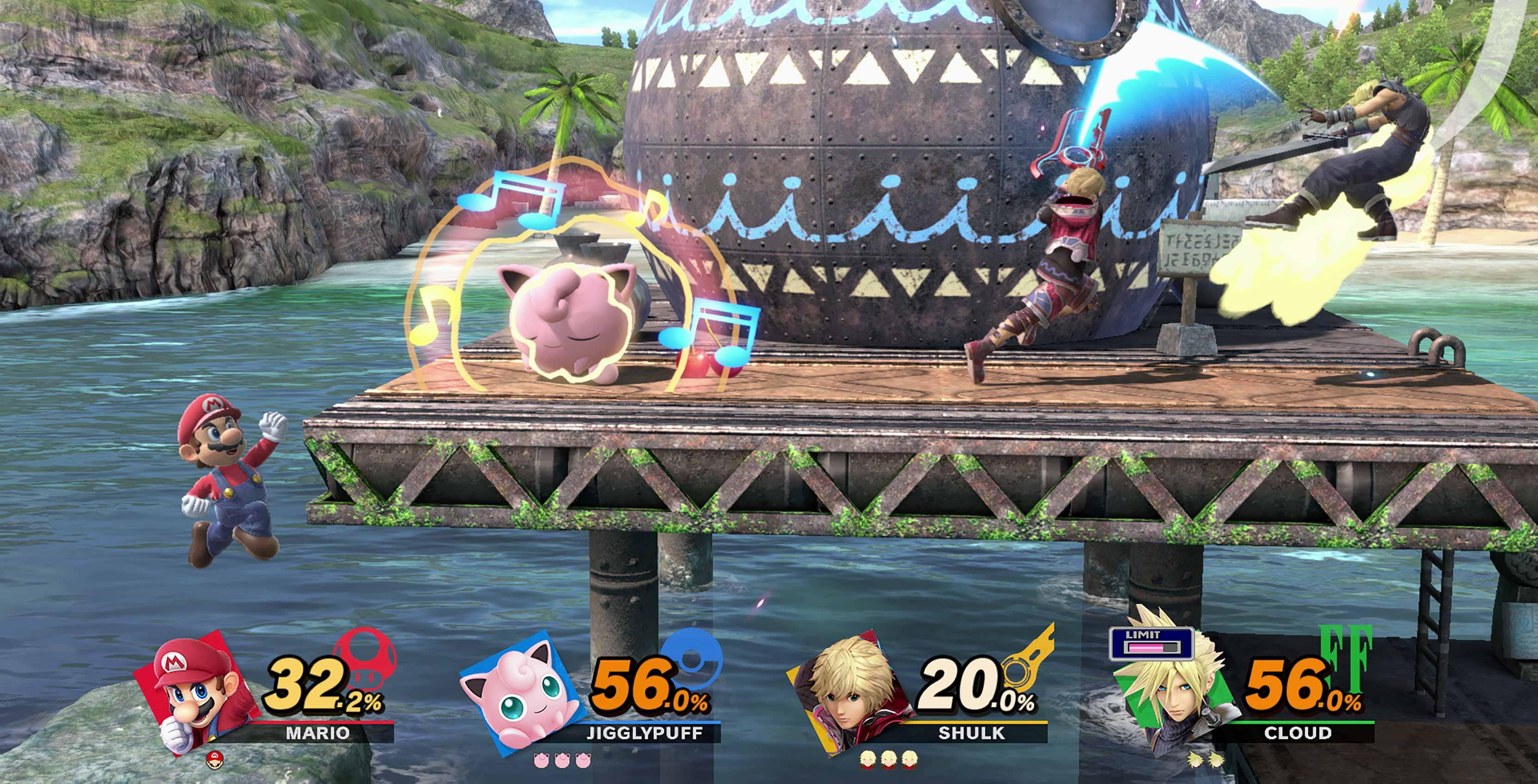 Super Smash bros. Ultimate   battle