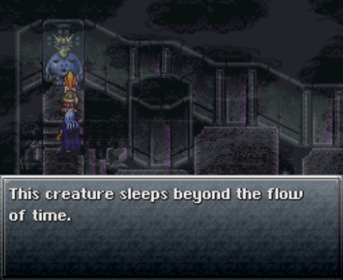 Chrono Trigger | Sleeps beyond the flow of time