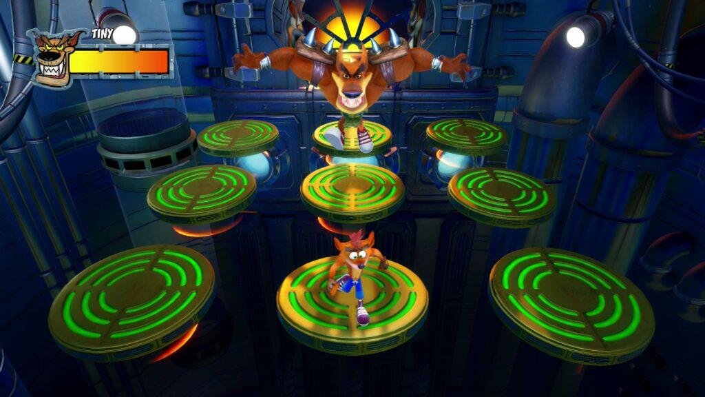 Crash Bandicoot N. Sane Trilogy | Crash 2 Tiny fight