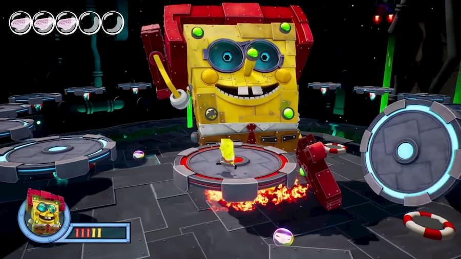 SpongeBob SquarePants: Battle for Bikini Bottom - Rehydrated | SPongeBot SteelPants