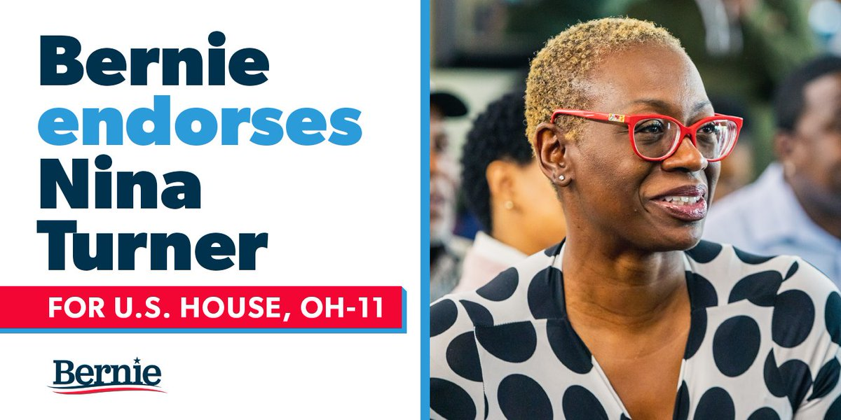Let's Send Nina Turner to Congress! – Ohio Special Election (Pink Tsunami)