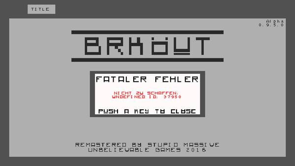 Quick Review: BRKÖUT (PC)